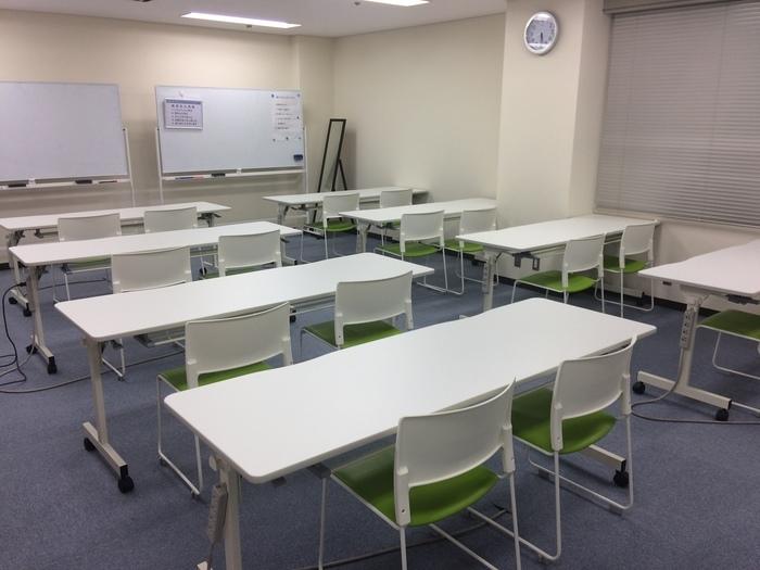 訓練室の写真です。