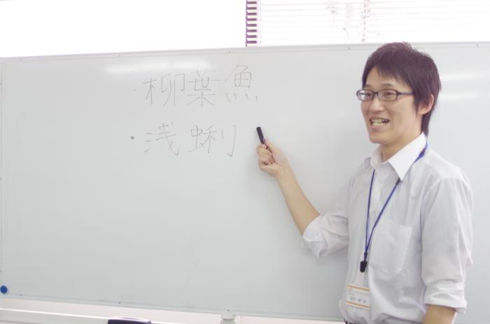 漢字検定のプログラムの様子です。