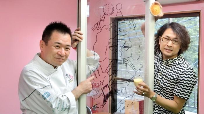 プロによるパッケージデザイン・製菓指導を受けました。
