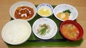 管理栄養士さん手作りメニューの昼食も食べられます。