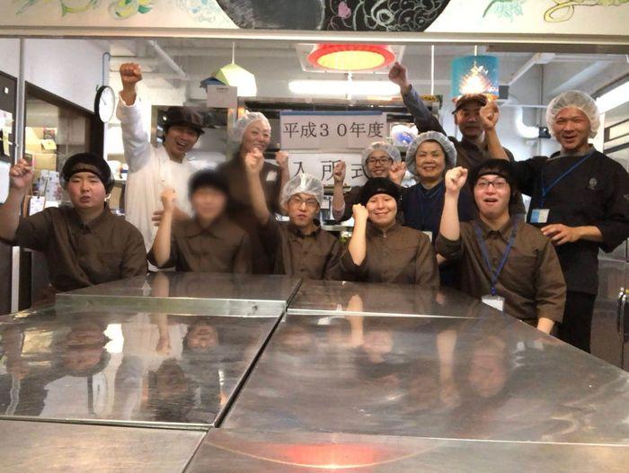 2016年にオープンした菓子製造を中心に行う事業所