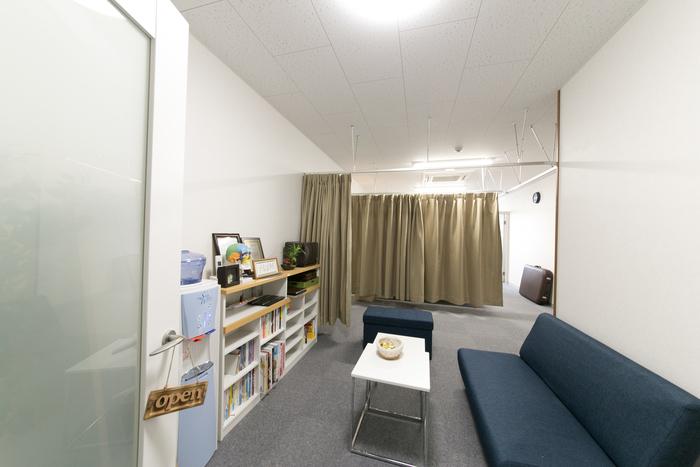 デザイン部(手描き)・整体部の部屋です。