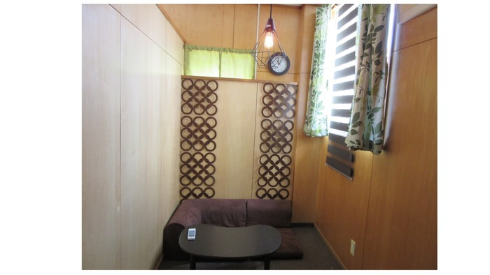 ~休憩室~ 個室を2部屋設けています。急な体調の変化、落ち着かない時などに活用していただけます。