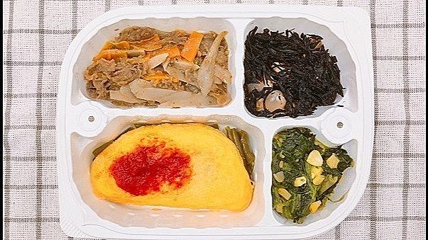 栄養バランスのとれた昼食を無料で提供しております。